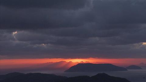 雲tlps 瀬戸内海01 Footage