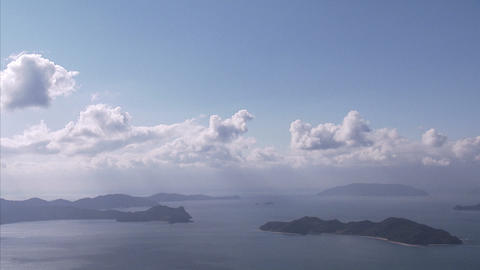 雲tlps 瀬戸内海04 Footage