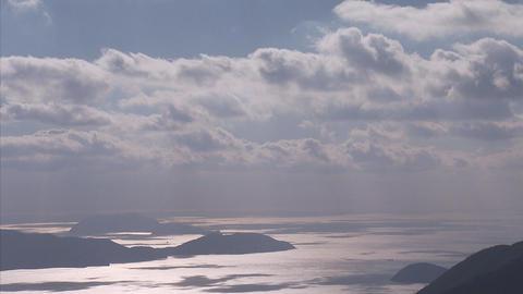 雲tlps 瀬戸内海06 Footage