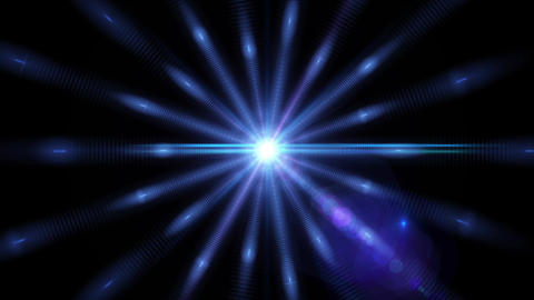 Pulsar 011: A graphic Pulsar star radiating light and pulsating energy Animation