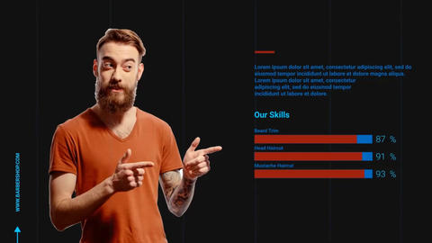 Barber Shop Promo After Effects Template