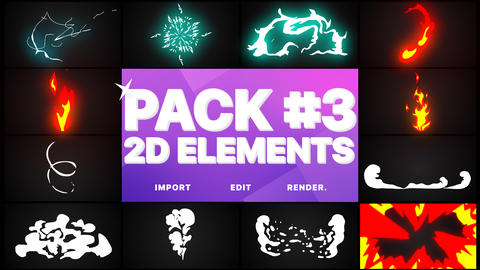 Elements Pack 03 Premiere Pro Template
