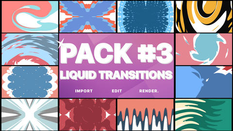 Liquid Transitions Pack 03 Premiere Pro Template