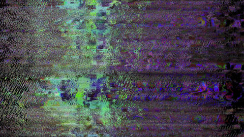 No Signal On Television Gltich EffectTV Static Turning On And Off. Analog TV Noise Effect. No Signal Animation