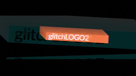 Glitch Logo 2 Apple Motion Template