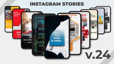 Instagram Stories v 24 After Effects Template
