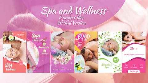 Spa and Wellness Package After Effects Template