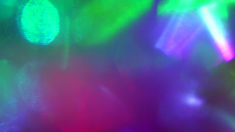Abstract dynamic sci-fi elegant holographic background, mixed hue Footage