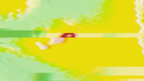 Glitch data error futuristic futuristic iridescent background Live Action