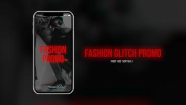 Fashion Glitch Promo Plantillas de Premiere Pro