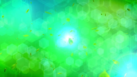 Animation of falling leaf, Abstract background Animation
