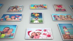 Photo collage Apple-Motion-Projekt