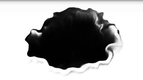 Bomb Digital ink bleed transition animation Animation