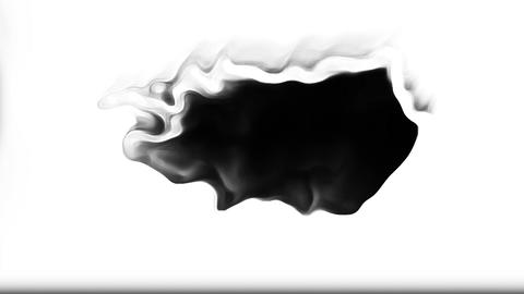 Exchange Ink Blots Are Falling And Spread Transition Animation