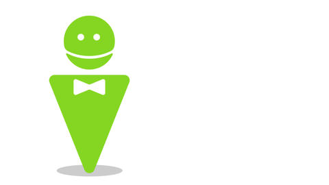 The speaking android Animation