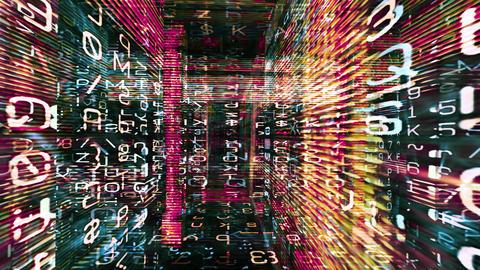 Digital Graffiti 054: Traveling through a maze of streaming data Animation