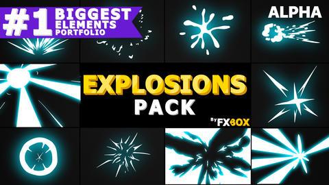 Explosion Elements Pack Premiere Pro Template