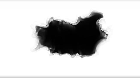 Every Digital ink bleed transition animation Footage