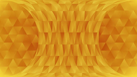 Triangle pattern of geometric shapes. Abstract polygonal loop animation. Colorful gradient CG動画