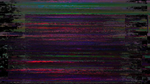 Bad Tv Signal On The Tv Screen Lines Background Motion Production Animation