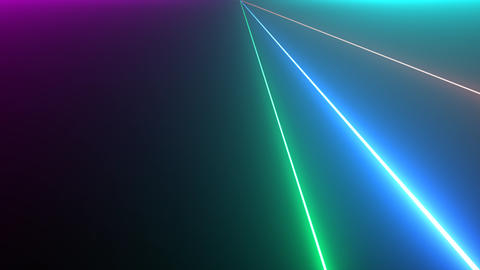 Laser Strobe Beams Seamless Loop Animation