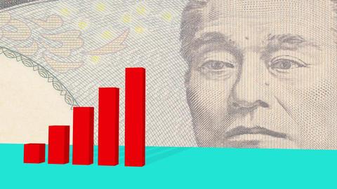 右肩上がりの日本経済 CG動画