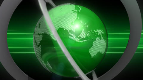globe CG動画