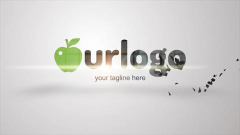 Eco Logo Formation After Effects Template