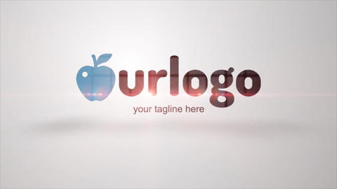 Ethereal Logo Animation After Effects Template