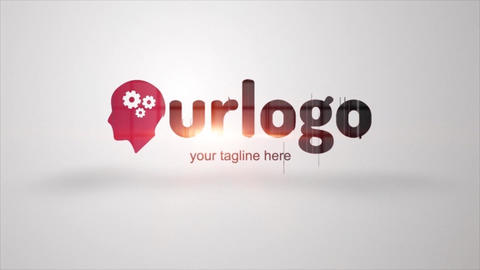 Logo Reveal Stream After Effects Template