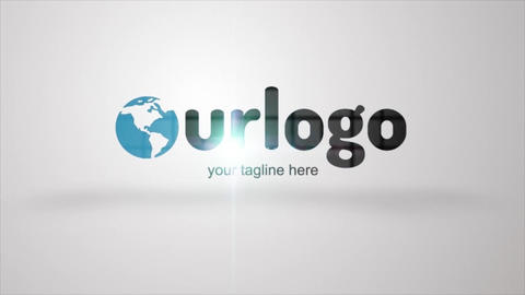 Shop Logo Reveal After Effects Template
