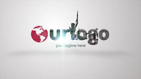 Top Logo Reveal After Effects Template