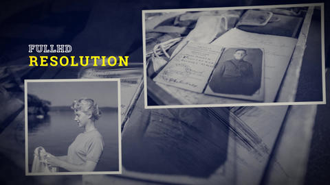 STORM - History Memories Slideshow After Effects Template