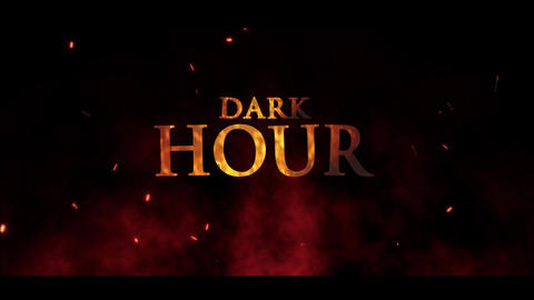 Fantasy Title - Dark Hour After Effectsテンプレート