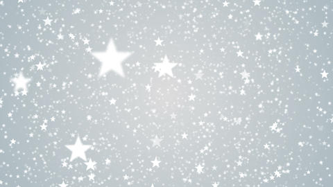 Particles star white business clean bright glitter bokeh dust abstract background loop Animation
