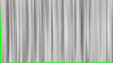 Five options for opening texture curtains with green screen. Textured opening curtains with green Animation