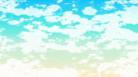 Mov98 cloud ue loop 03 CG動画