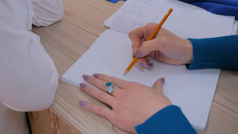 Fashion designer drawing design sketch Live Action