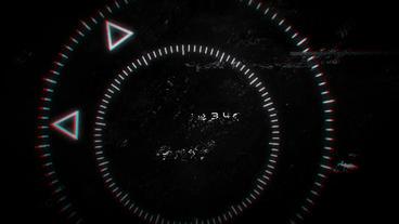 Dark Glitch Logo folder After Effects Template