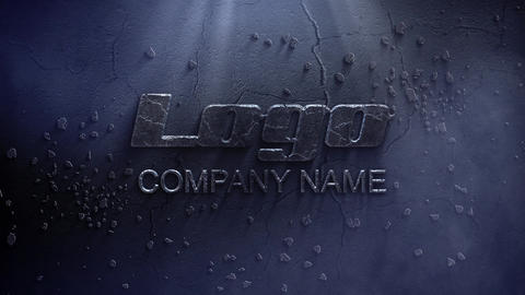 Stone Logo In The Dark After Effects Template