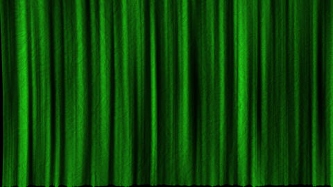 Five options for opening texture curtains with alpha channel. Textured opening curtains with CG動画