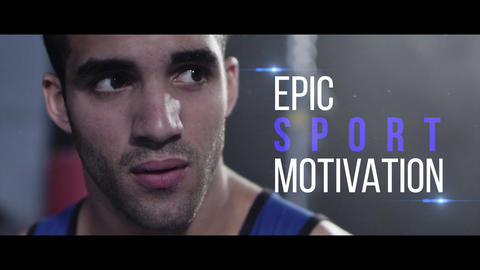 Epic sport motivation Premiere Pro Template