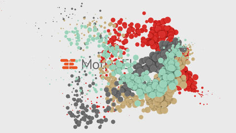 Clean Particle Titles After Effects Template