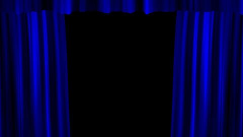 Curtain opoening Animation