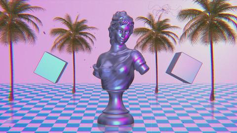 80s Vaporwave Retro Animation
