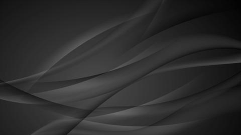 Black abstract modern wavy video animation Animation