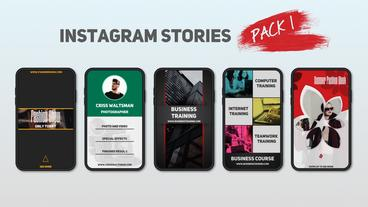 Instagram Stories Pack 1 After Effects Template