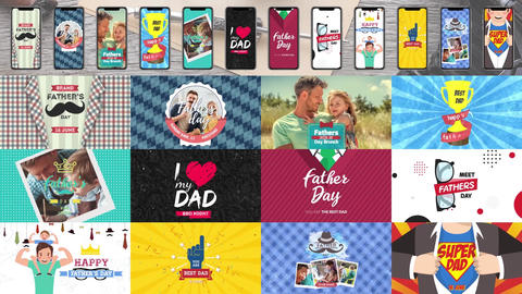 Father's Day Package After Effects Template