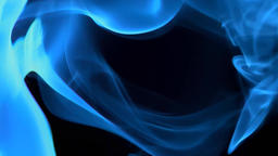 Abstract blue smoke Live Action