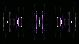 Abstract lines on a black background Live Action
